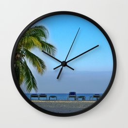 Trinidad Beach, Cuba, Early Morning Wall Clock