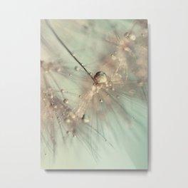 dandelion mint Metal Print