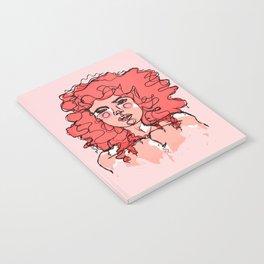 Little Red Curls Notebook