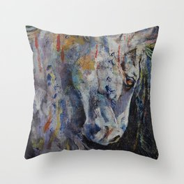 Knight of Chess Throw Pillow
