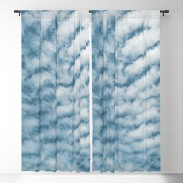 blueish cotton candy Blackout Curtain
