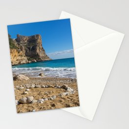 Beach, Sun and Mediterranean Sea - Cala Moraig 1 Stationery Cards