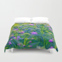 sunshine Duvet Covers featuring Sunshine. by Mary Berg