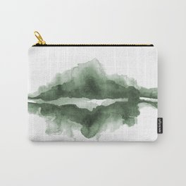 Mountain Reflections on a Lake in Spring Carry-All Pouch