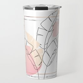 Tropical minimal Travel Mug