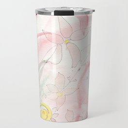 Summer flower meadow Travel Mug