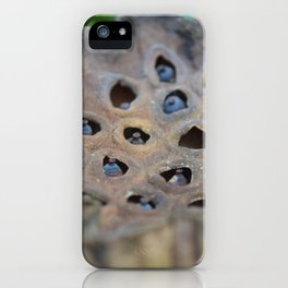 seed pod iPhone Case