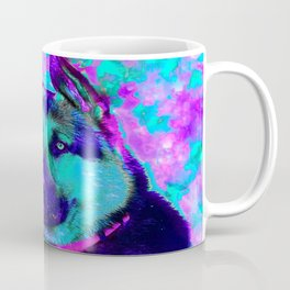 Artistic Dog Expression Coffee Mug
