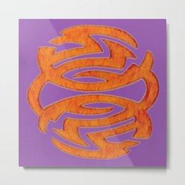 Abstract Designz - 9 Metal Print