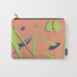 80s Shapes, Colors and Space Carry-All Pouch