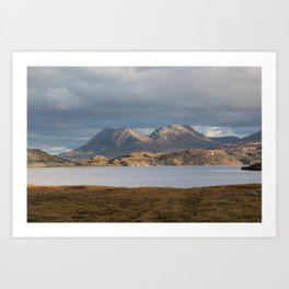 The Road to Achiltibuie Art Print