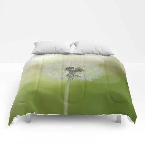 Dandelion in LOVE Comforters