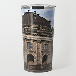Bode Museum with cloud drama Travel Mug