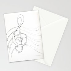 Clef Point Stationery Cards