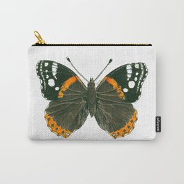 Admiral butterfly ink illustration Carry-All Pouch