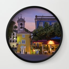 Sintra old town, Portugal Wall Clock