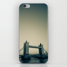 Tower Bridge at dusk iPhone & iPod Skin