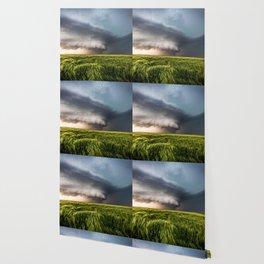 Leoti's Masterpiece - Incredible Storm in Western Kansas Wallpaper