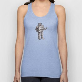 Robot Toy Shirt Unisex Tank Top