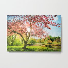 Peaceful Spring Metal Print
