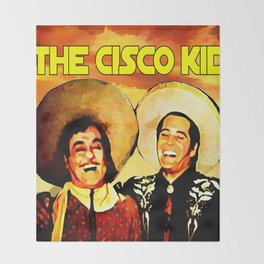 The Cisco Kid Throw Blanket