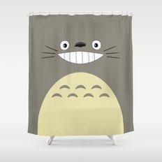 My Neighbor Smile Shower Curtain