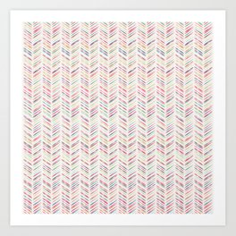 Arrows 2: Multi-color Art Print