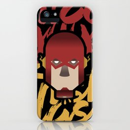 The flash is dead iPhone Case