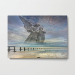 Angels Love Is With You Always Metal Print