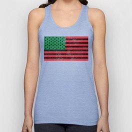 African American Flag Gift Idea Unisex Tank Top