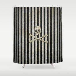 Pirate Stripes Shower Curtain