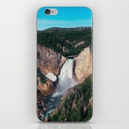 Yellowstone x Lower Falls iPhone Skin