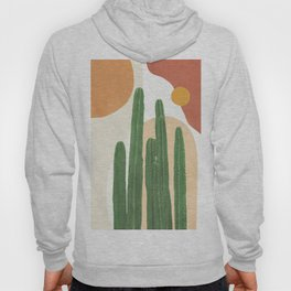 Abstract Cactus I Hoody