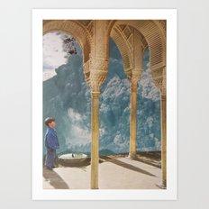 collage 17. Art Print