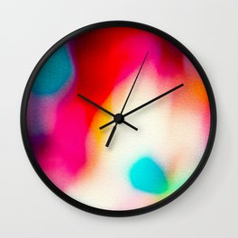 BLUR / big city lights Wall Clock