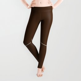 Boobs - Dark Brown Leggings