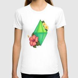 Hibiscus & Plumeria Plumbob T-shirt