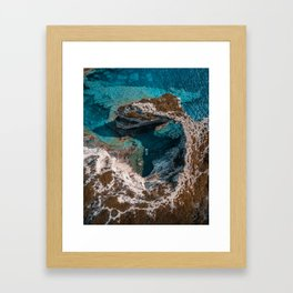 Island of Paxos, Greece Framed Art Print