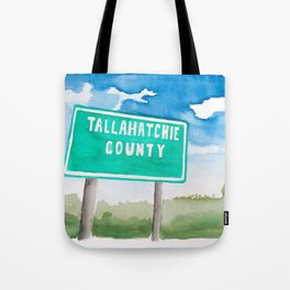 Tallahatchie County Tote Bag