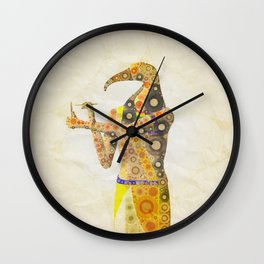 Thoth, God of Egypt Wall Clock
