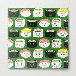 Yatta, Sushi! Metal Print