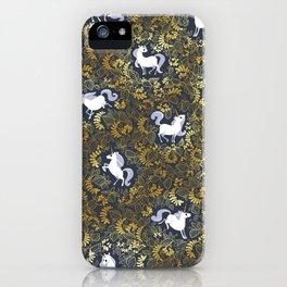 Unicorn pattern iPhone Case