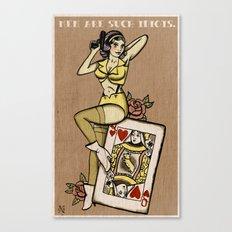 My Funny Valentine Canvas Print