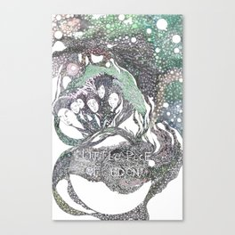 little piece of eden Canvas Print