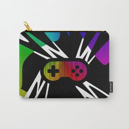 Rainbow Gamer Controller Carry-All Pouch