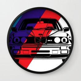 E30 M3 Wall Clock