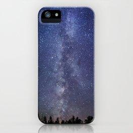 The Milky Way: A Pillar of Light iPhone Case