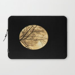 Shadows on the Moon Laptop Sleeve