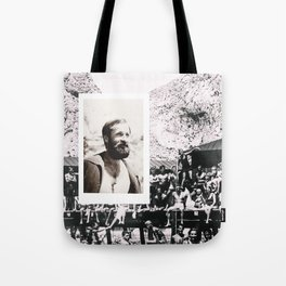 Hipsters from 1970. Tote Bag