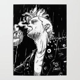 Smoke and Rain Poster